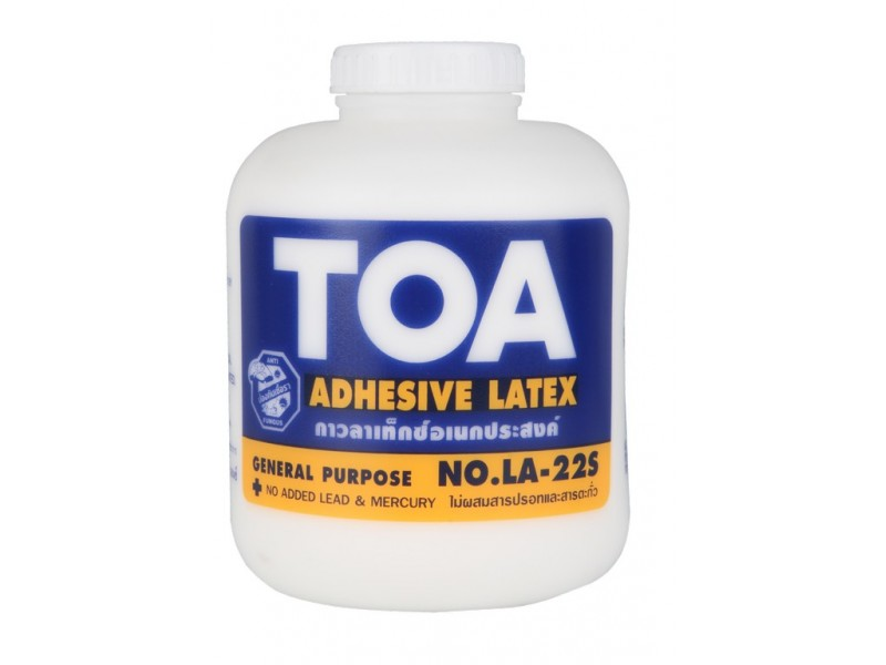 What is a latex adhesive